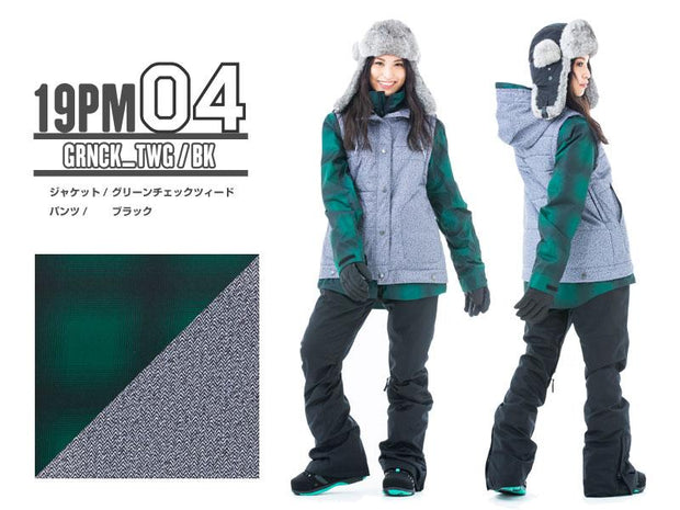 Japan Secret Garden Playmore Premium Women's Snowboard Suits