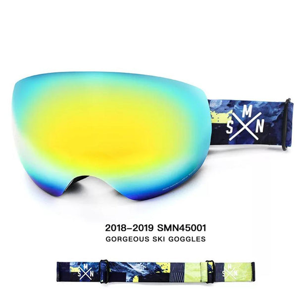 Unisex Color Strap Full Screen Goggles - Venturelite