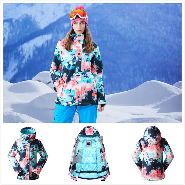 Women's All Functional Winter Snowboard Suits - Venturelite
