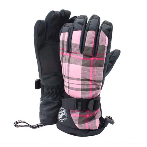 Women's British Style Snow Gloves - Venturelite