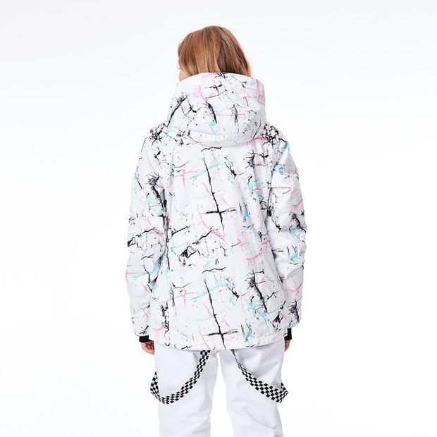 Women's Colorful Metropolis Snowboard Jacket - Venturelite