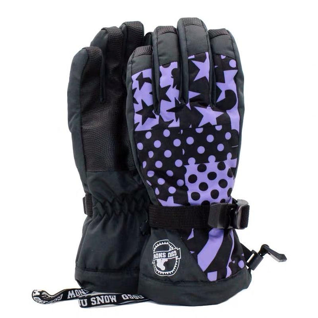 Women's Fall In Love Snow Gloves - Venturelite