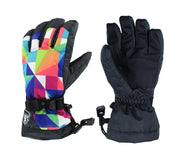 Women's Geometry Snow Gloves - Venturelite