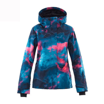 Women's Light Graffiti Snowboard Jacket - Venturelite