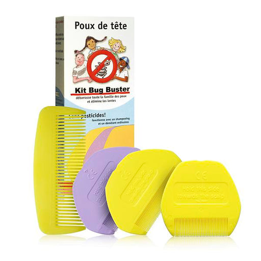 "Kit anti-poux ""bug buster"""