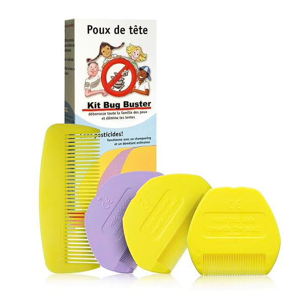 "Kit anti-poux ""bug buster"" - MAKESENZ"