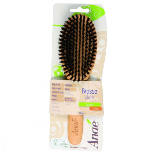Hairbrush with Wild Boar Bristles
