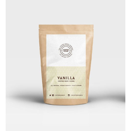 Coffee & Vanilla scrub 100% natural, bio & vegan