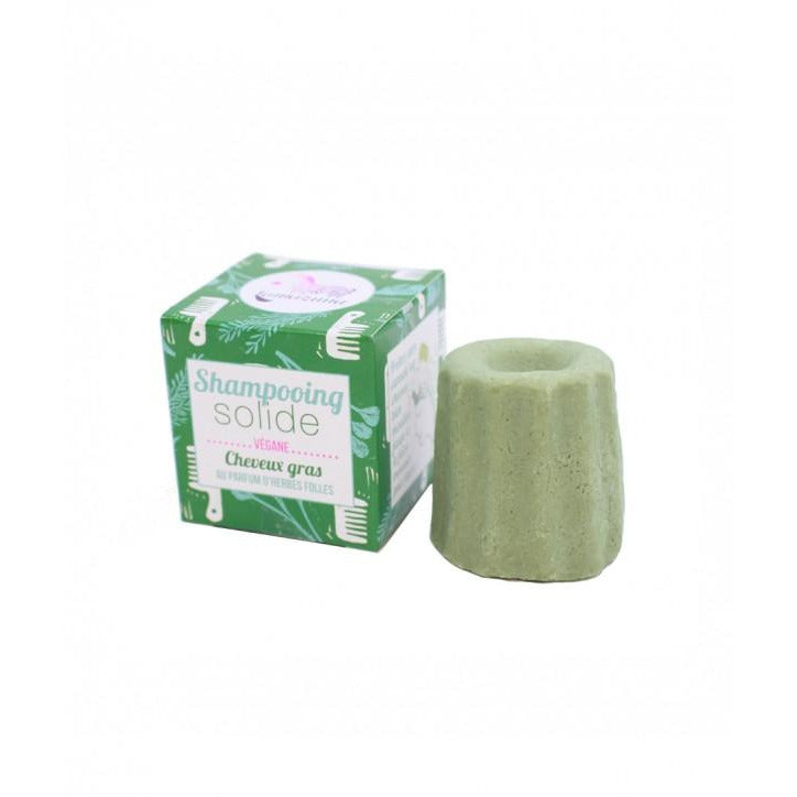 Wild Herbs Solid Shampoo for oily hair