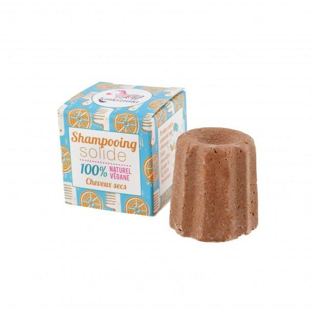 Shampoing solide cheveux secs à l'orange - 55g - MAKESENZ