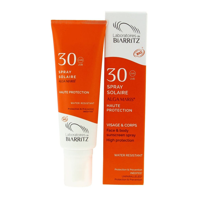 Spray solaire SPF 30 - 100ml - MAKESENZ