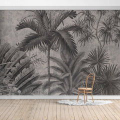 PW19052401417X Hawaiian style Jungle design Mural for bedroom or dinning room by SJK