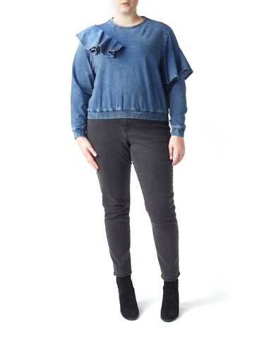 Curve - Jessie Denim Look Sweater