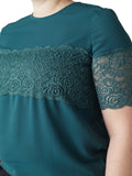 Isla Lace Overlay Top
