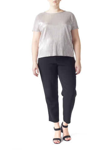 Poppy Metallic Top