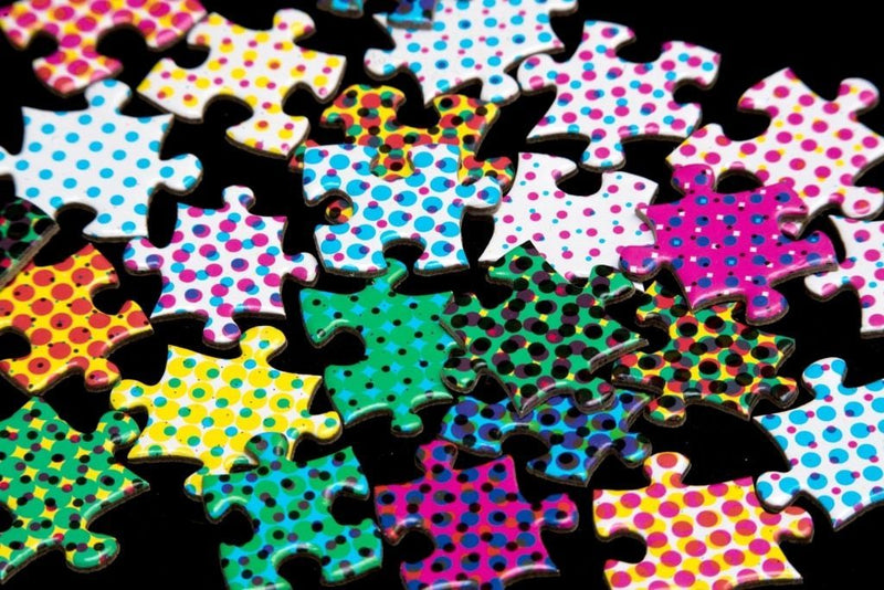 1000 Colours Puzzle | Clemens Habicht | Halftone Colours Puzzle – Look closer