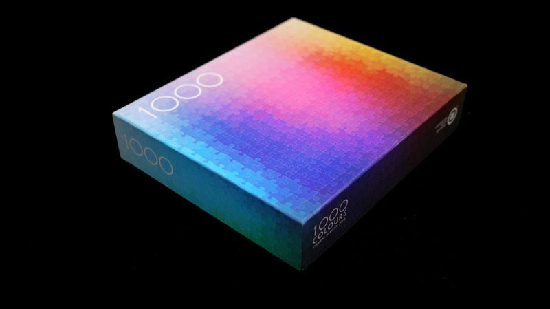 1000 Colours Puzzle | Clemens Habicht | The Original