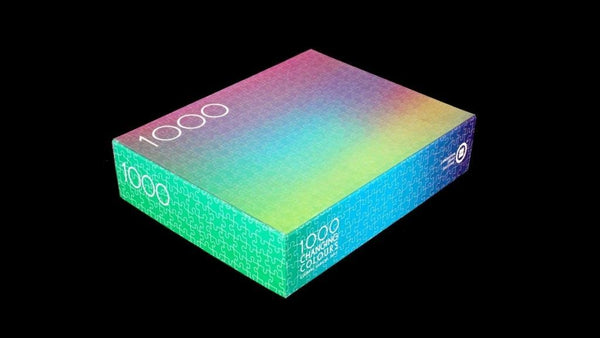 1000 Colours Puzzle | Clemens Habicht | 1000 Changing Colours Puzzle
