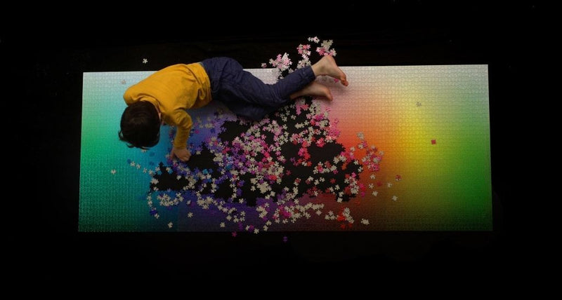 5000 Piece Colour Puzzle | Clemens Habicht | For the crazy ones
