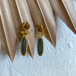 Inartisan - Necla double drop earring