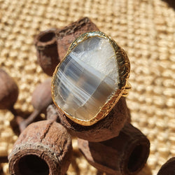 Inartisan - Moirai Faceted ring