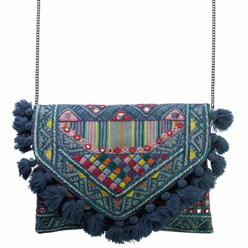 Accessories | Canvas and Sasson | Bohemia Aurora Clutch