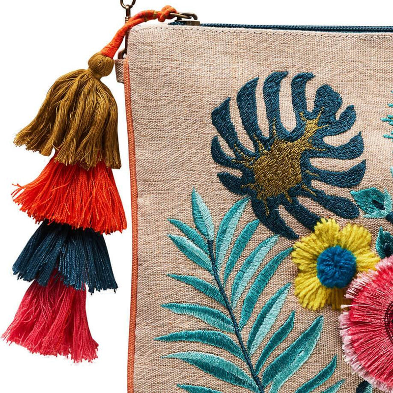 Accessories | Canvas and Sasson | Bohemia Garden Party Clutch