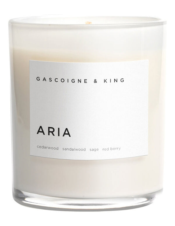 Gascoigne & King - Luxury candle Aria