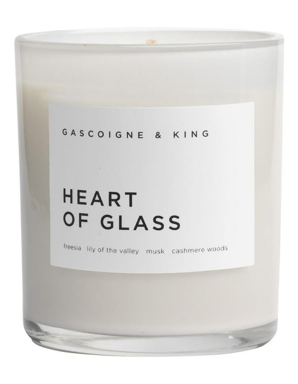 Gascoigne & King - Luxury candle Heart of Glass