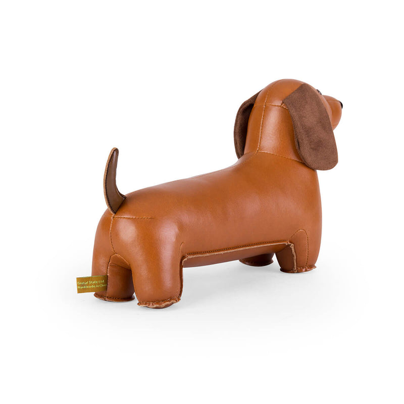 Home Decorations | Kids Room | Zuny | Bookend Classic Dachshund Tan