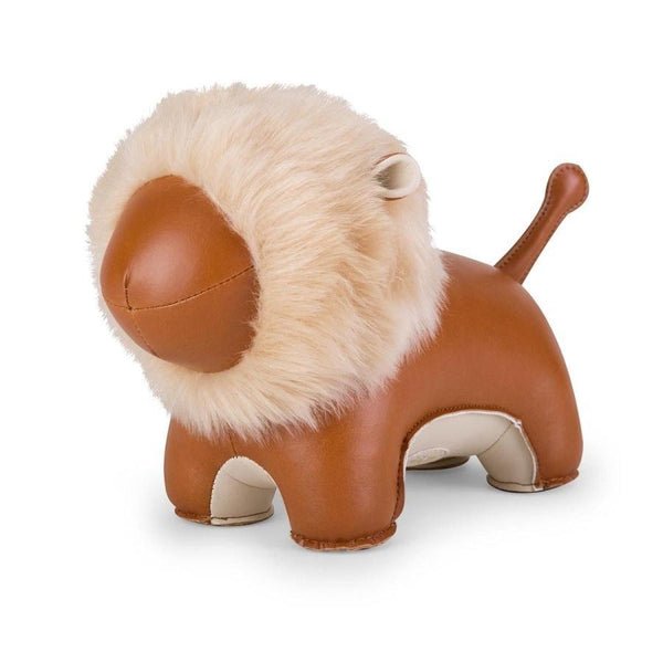 Home Decorations | Kids Room | Zuny | Bookend Lion Tan