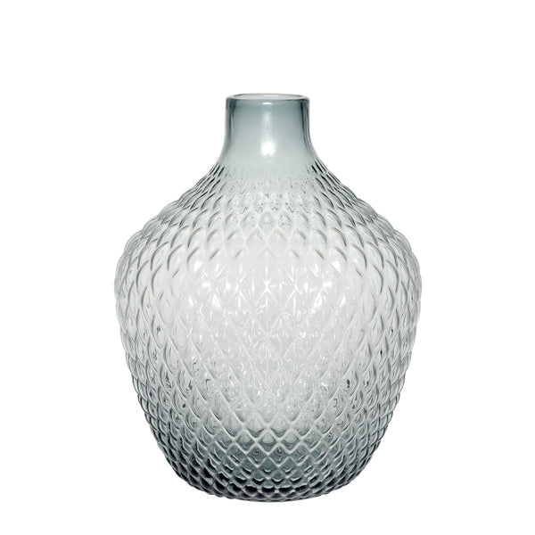 Hubsch - Large Decorative glass vase