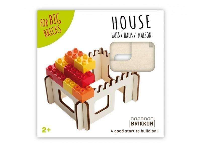Kids Games | Brikkon - House for big bricks | Games for Kids