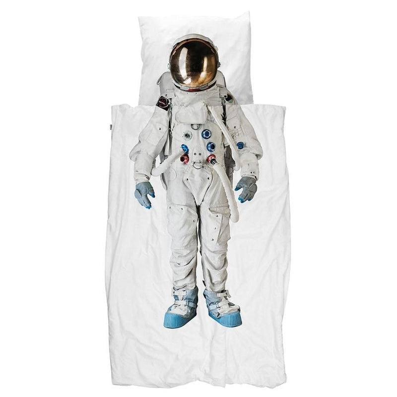 Kids Room | Snurk | Quilt cover set Astronaut | Home Decor
