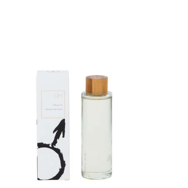 Only Orb - Diffuser Oil Bergamot and Vetiver