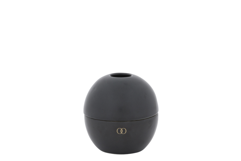 Only Orb - Ceramic Orb Diffuser Set Matte Black