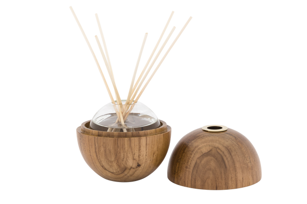 Only Orb - Orb Diffuser Set Teak and Brass