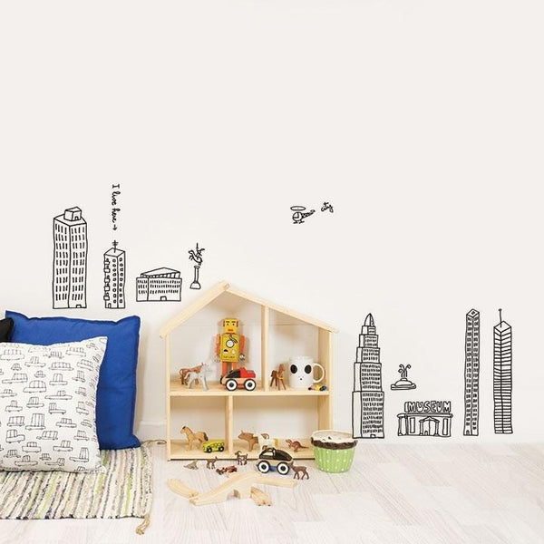 Wall Stickers Nursery | Chispum | I live here Wall Sticker