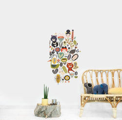 Wall Stickers Nursery | Chispum | Jungle wall sticker