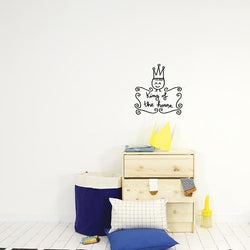 Wall Stickers Nursery | Chispum | King of the House Wall Sticker