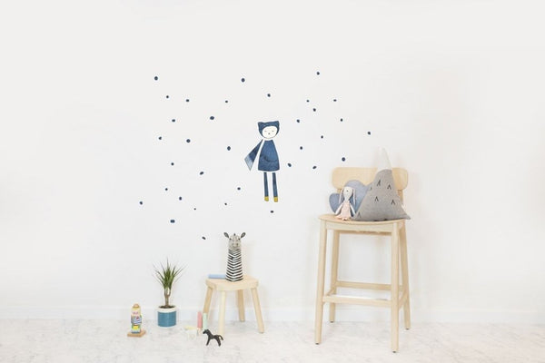 Wall Stickers Nursery | Chispum | Magician by Fabelab wall sticker