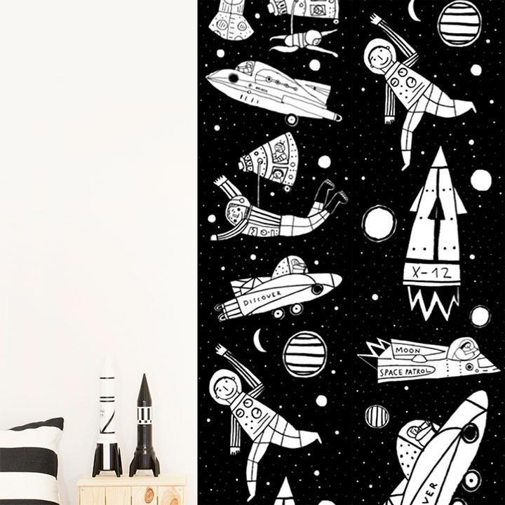 Wall Stickers Nursery | Chispum | Universe Wallpaper