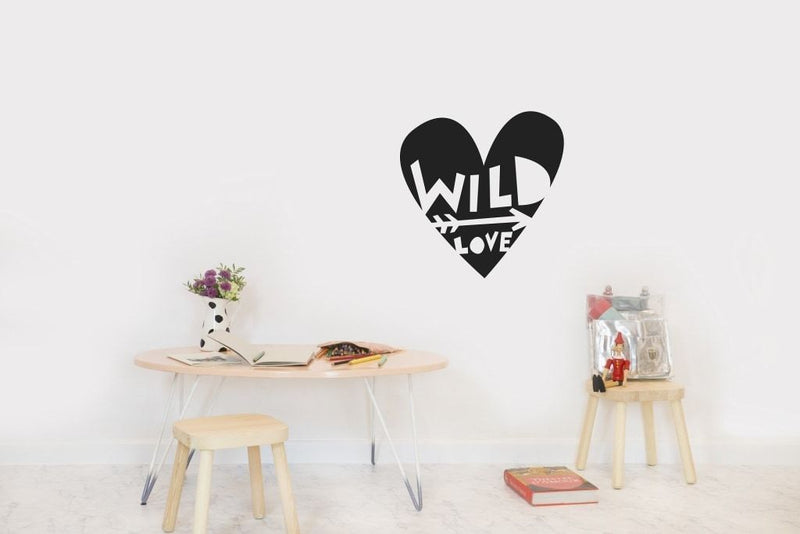 Wall Stickers Nursery | Chispum | Wild love wall sticker