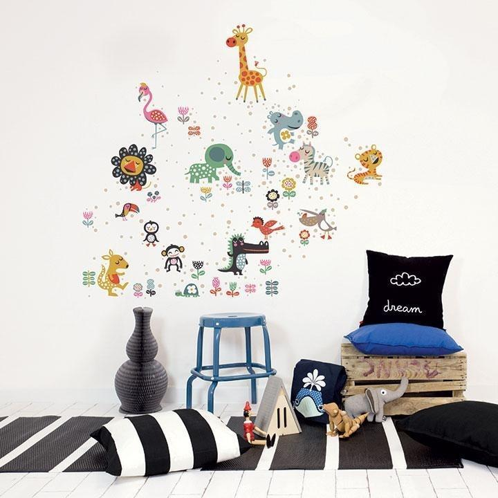 Wall Stickers Nursery | Chispum | Zoo Wall Sticker