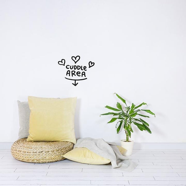 Wall Stickers for Kids | Chispum | Cuddle Area Wall Sticker