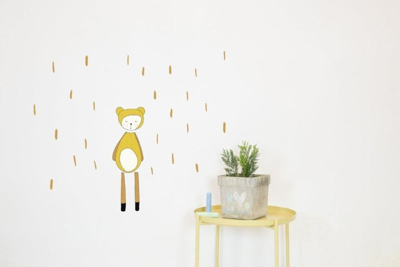 Wall Stickers for Kids | Chispum | Bear by Fabelab wall sticker