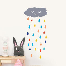 Wall Stickers Nursery | Chispum | Rain Wall Sticker
