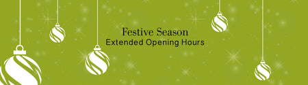 December Extended Opening Hours