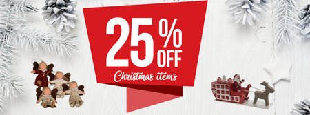 Grab a bargain while storing your Christmas Deco away!