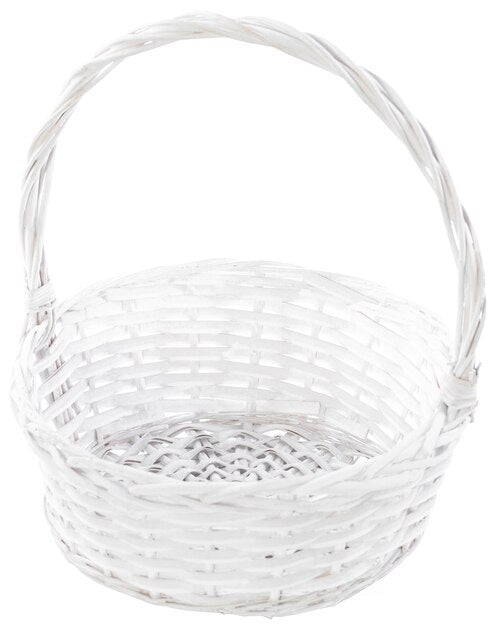 Willow Basket White
